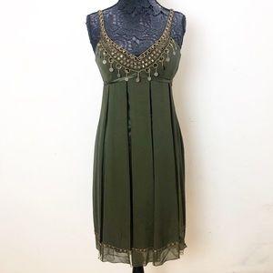 SUE WONG NOCTURNE EMBELLISHED DRESS 6